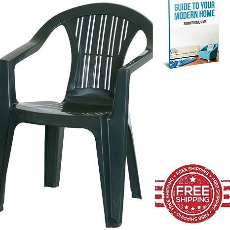 Plástico Ergonómico sillón reclinable silla de jardín silla ...