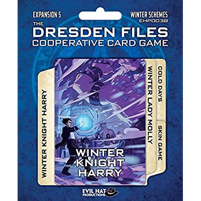 Evil Hat Productions The Dresden Files Cooperative Expansion 5: Winter Schemes 5, Card Game: Toys & Games
