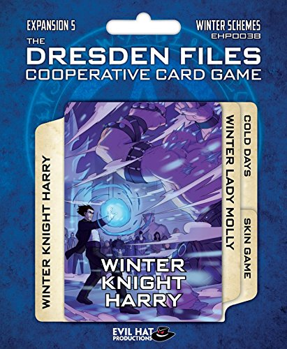 Evil Hat Productions EHP00038 Dresden Files: Cooperative Card Game Expansion 5-Winter Schemes, Multicolor