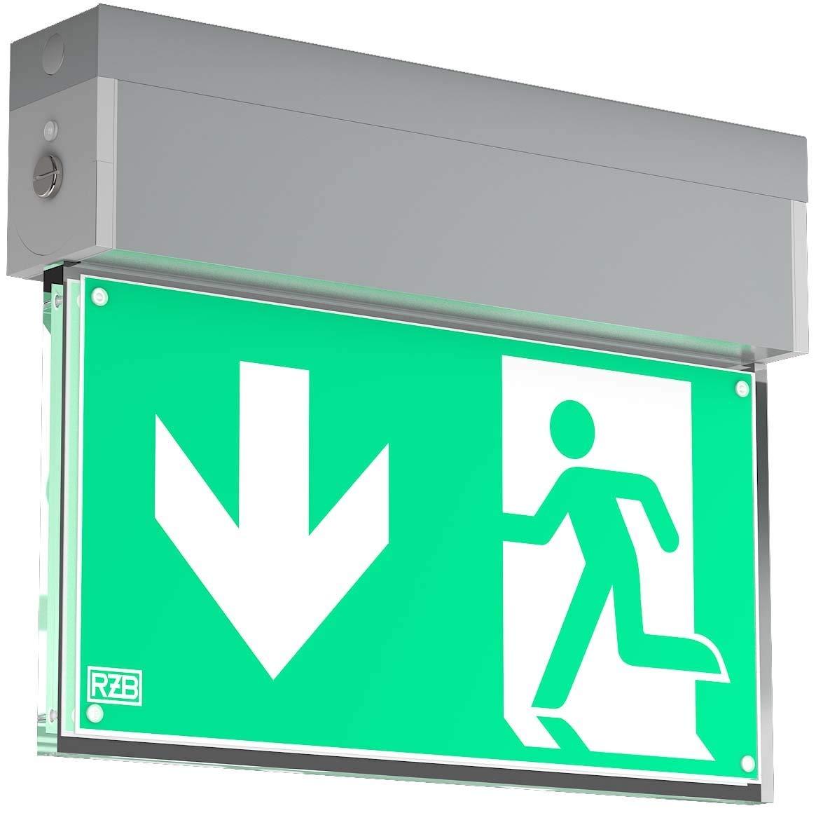RZB Zimmermann LED-Wand Decken Notleuchte 671983.004.1 GSUN Universal-S Universal-S Sicherheitsleuchte 4051859109068