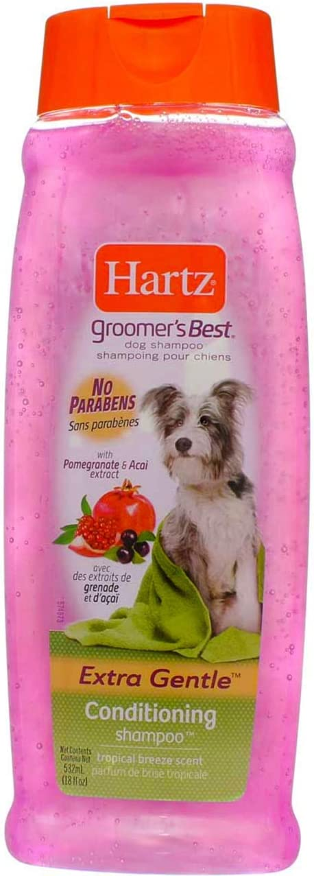 Hartz Groomers Best 3 in 1 Conditioning Shampoo for Dogs