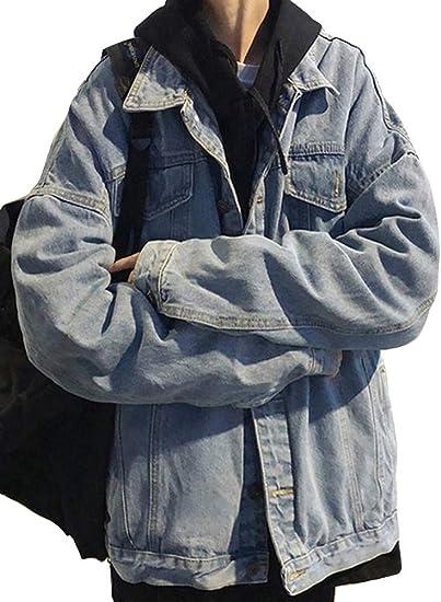 Heaven Days(ヘブンデイズ ) Gジャン デニムジャケット ジージャン ブルゾン BIGシルエット ドロップショルダー メンズ 1911C0278