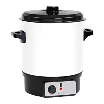 Royal Catering Olla para vino caliente Pasteurizadora RCMW-27WDTB (27 L, 1.800 W