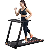 UREVO Foldable Treadmills for Home,Under Desk Electric Treadmill Workout Running Machine,2.5HP Portable Compact…