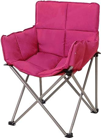 En plein air Portable Rose Rouge Chaise Pliante Chaises