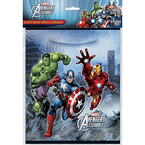 Unique 46343 Avengers Goodie Bags