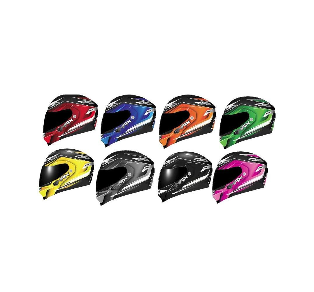 GMax GM54S Terrain Mens Snowmobile Helmets - Red - X-Small