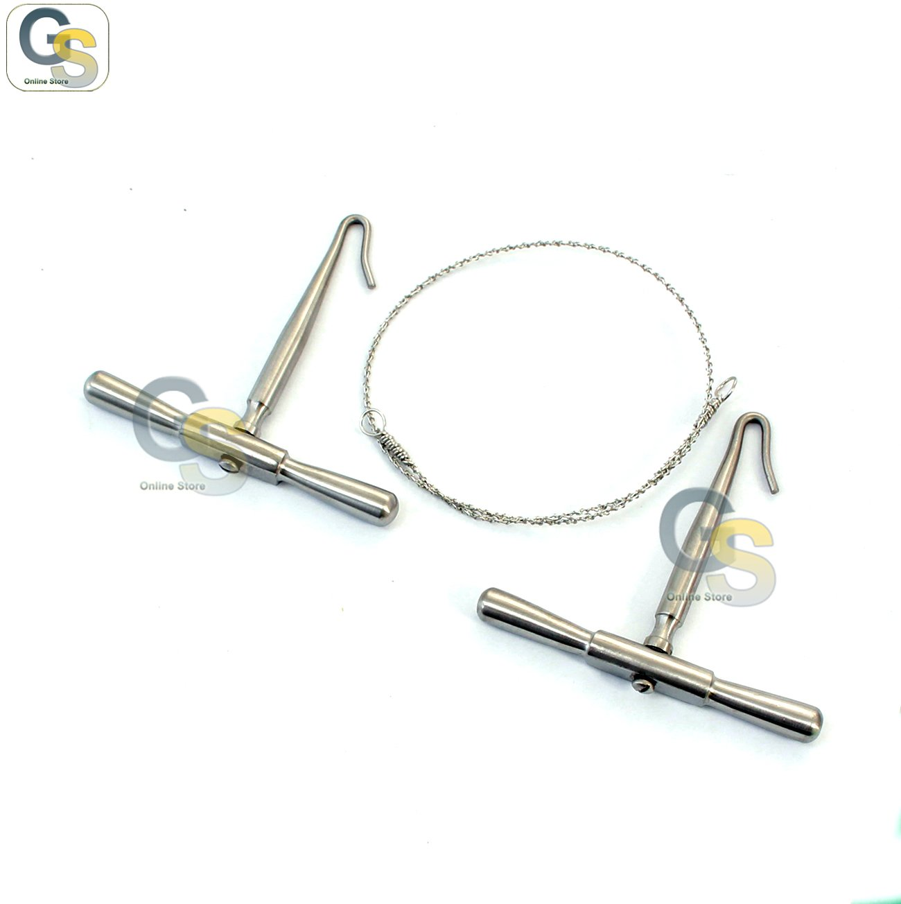 Amazon.com: G.S SET OF GIGLI SAW WIRE AND HANDLES: Health & Personal ...