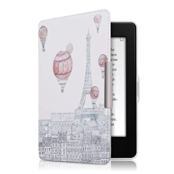 kwmobile Funda para Amazon Kindle Paperwhite - eReader Case de ...