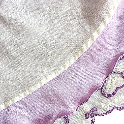 Viola Di Formato Di Turchese Ragazze 12 Di Anni Abito Capestro Modo Sole Vestito Partito 5 Ricamato Farfalla qaHfxRHw