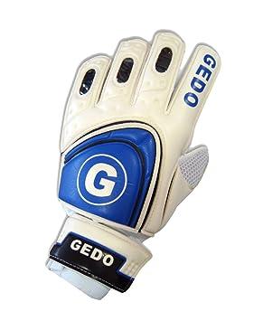 Gedo AG072A - Guantes Portero, Color Blanco/Azul Royal ...