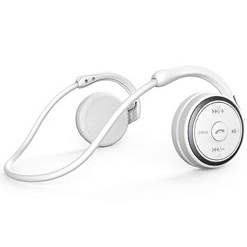 HLLZL Auriculares Bluetooth Correr Inalámbricos Deportivos, Cascos con Sonido Hi-Fi Estéreo Compatible con