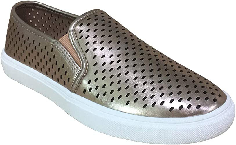 Perforated Comfort Casual Slip On Shoes
