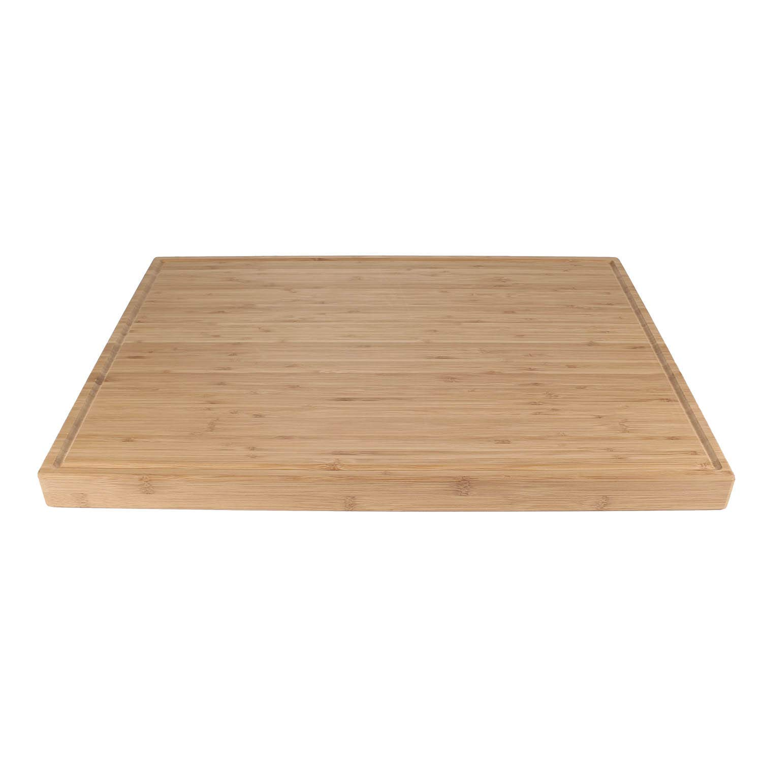 "BambooMN Brand - Heavy Duty Premium Bamboo Cutting Board - 24"" x 18"" x 1.5"" (Grooved)"