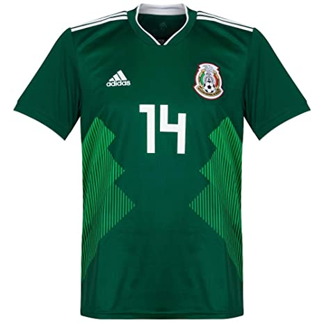 58cc471ecbf97 Amazon.com   Mexico Home Chicharito Jersey 2018   2019 (Official Printing)  - XL   Sports   Outdoors
