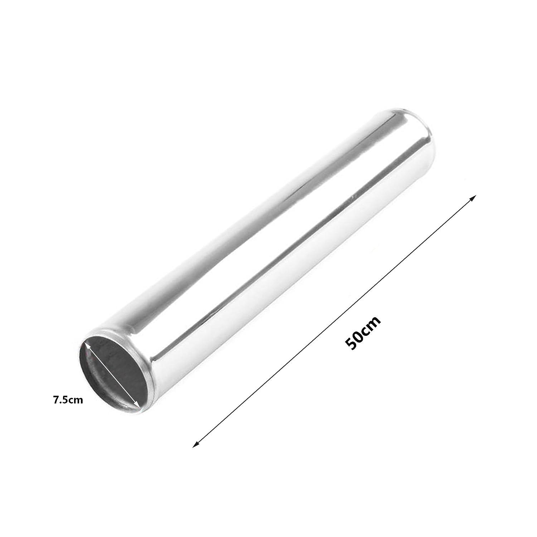 Forma U Tubo de Intercooler Radiador MODAUTO Tubo de Aluminio para Filtro de Aire Modelo E319A 180 Grados Codo de Alumnio Di/ámetro 50mm