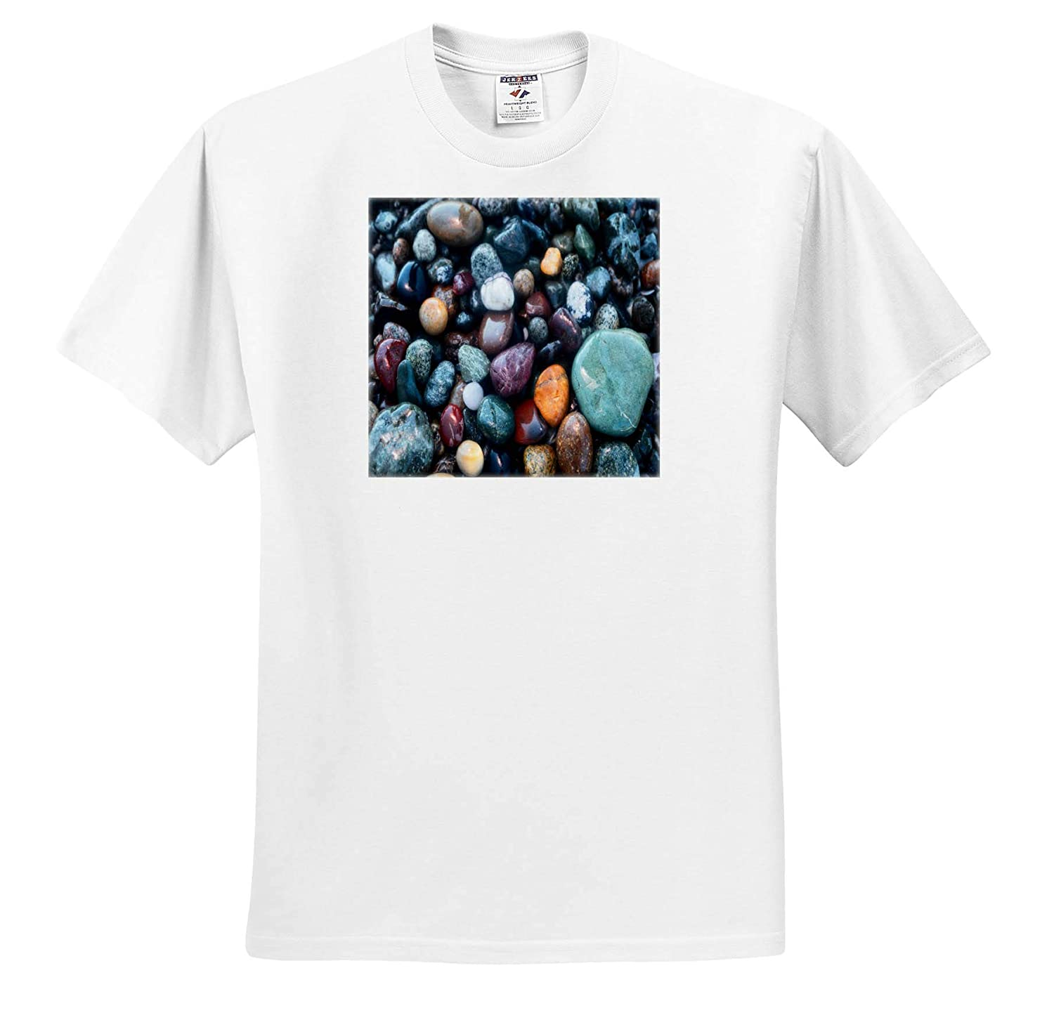 Adult T-Shirt XL 3dRose Mike Swindle Photography Landscapes ts/_309077 Multi Colored Rocks