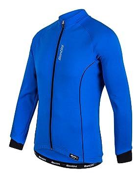 Santini Ora Long Sleeve Thermo Fleece Jersey  Amazon.co.uk  Sports ... 4d8cd9fed