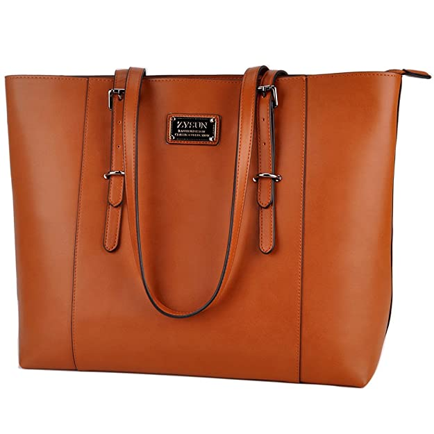 ZYSUN Laptop Tote Bag Fits Up to 15 6 in Awesome Gifts for Women