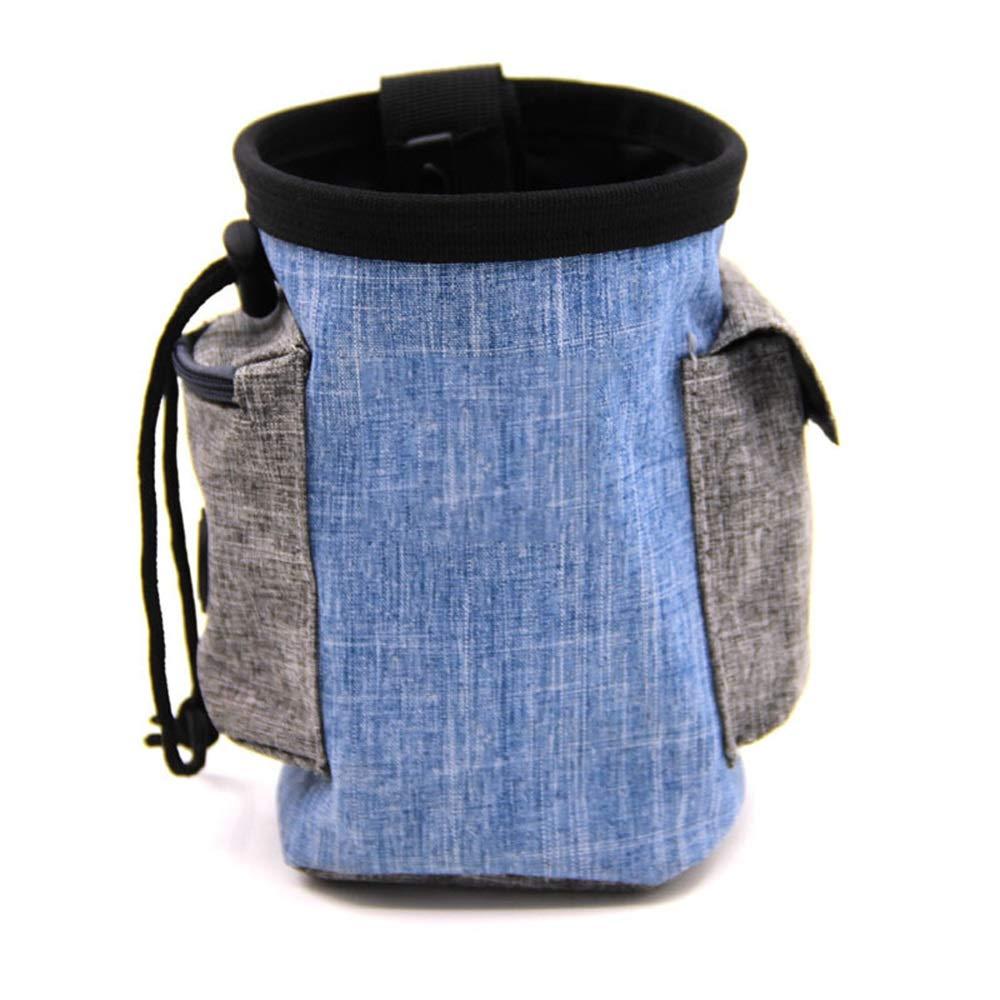 A Xiao Jian- Pet Bag Pet Out Food Bag Outdoor Training Bag Dog Bag Waterproof Material Training Dog Supplies Training Pet Bag (height 17 × Width 12cm) Pet bag (color   A)