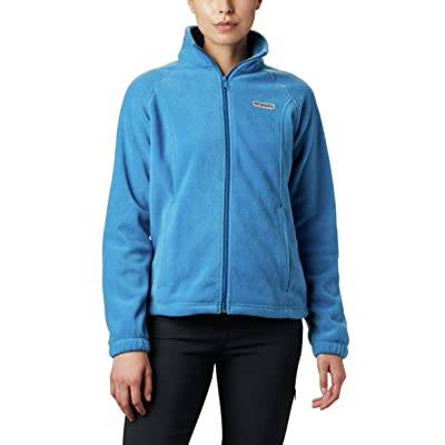 Columbia Women's Benton Springs Full Zip Jacket, Soft Fleece with Classic Fit, Dark Pool, X-Large: Clothing