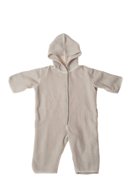 4a42a8959 Amazon.com  LANACare Organic Merino Wool Hooded Overall