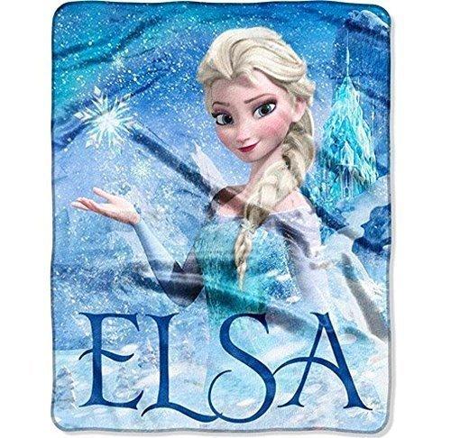 Castle Blanket (Disney's Frozen Silk Touch Elsa Palace Throw Blanket  40