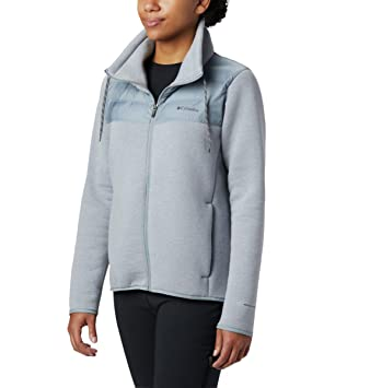 Columbia Northern Comfort Hybrid Jkt Chaquetas De Forro Polar, Mujer