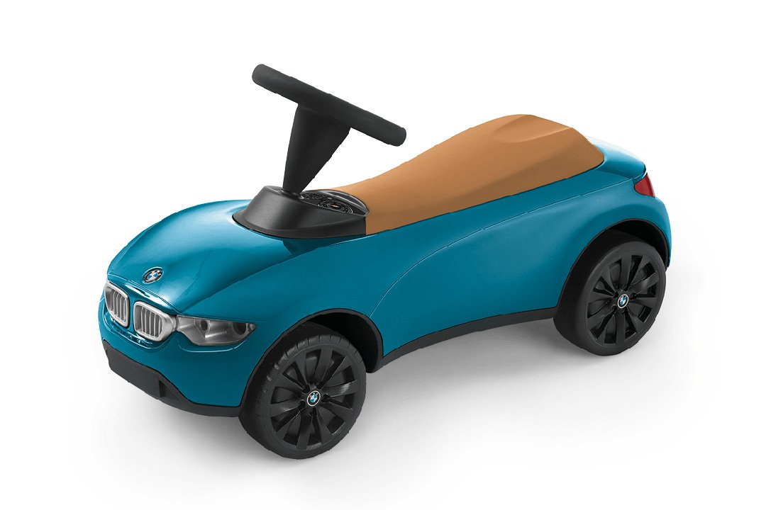 BMW Rutschauto BMW Baby Racer III türkis - BMW Baby Racer 3 Schubstange