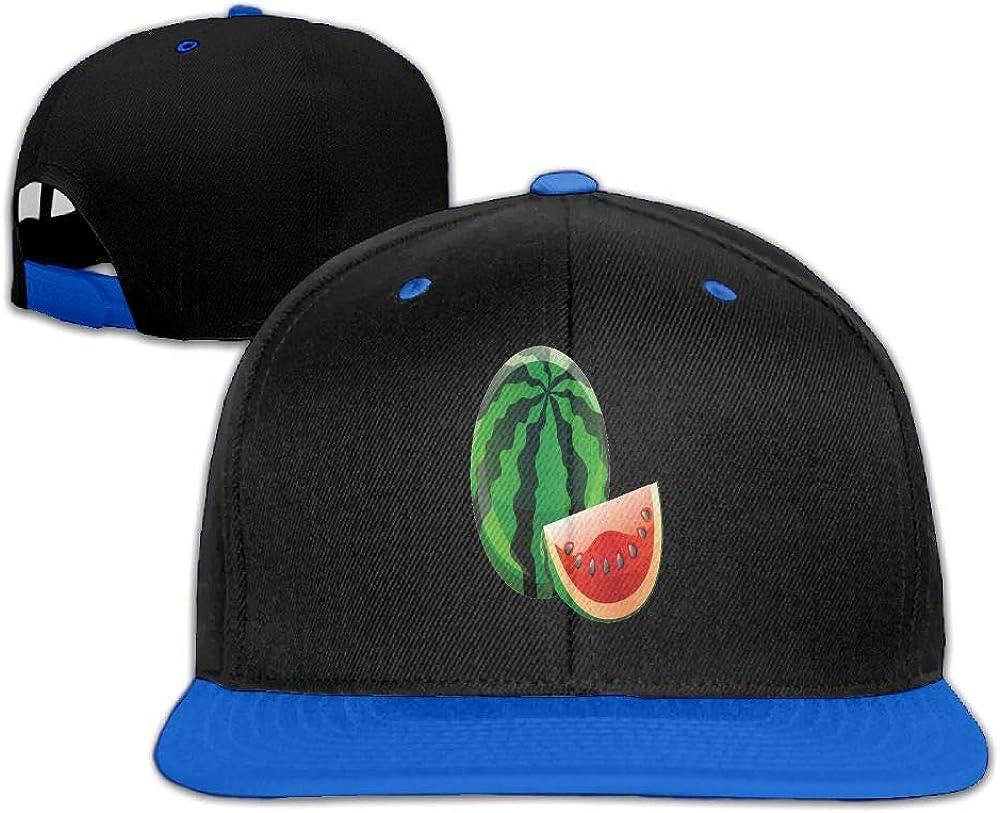Tailing Fruit Watermelon Unisex Hip-hop Hats Snapback Hat Solid Flat Cap