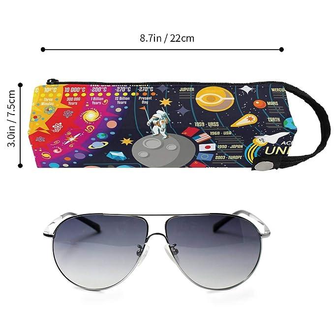 Amazon.com: Space 3D Galaxy New Horizons - Estuche de gafas ...