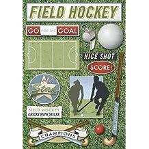 Karen Foster Design Acid and Lignin Free Scrapbooking Sticker Sheet, Field Hockey