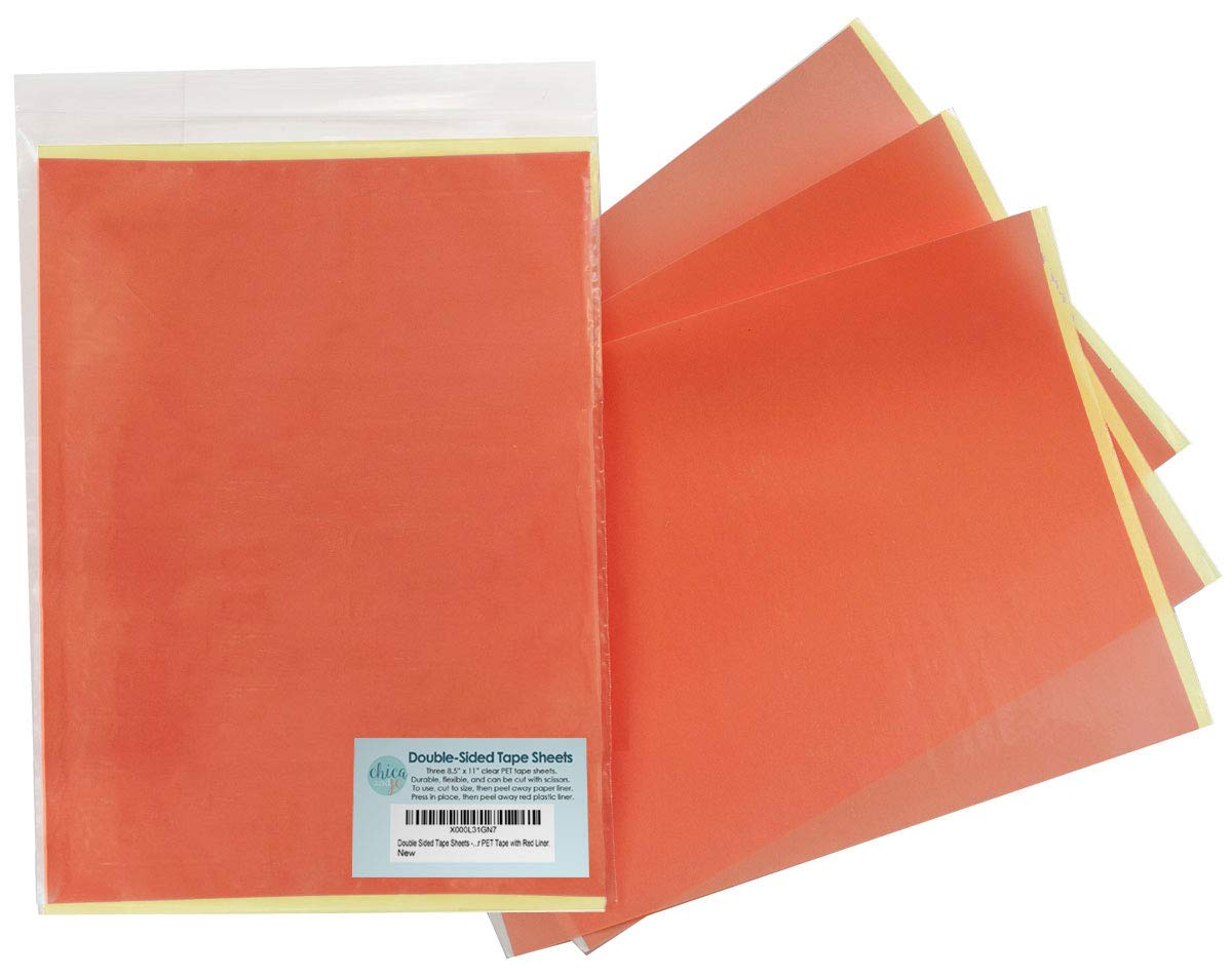 1000 A5 double sided adhesive tape sheets very sticky AMAZING VALUE