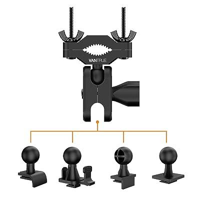Vantrue Dash Cam Rearview Mirror Mount for N2 Pro, N2, X3, T2, T1, X1, X1 Pro Dash Cams, Rexing V1, V1P Dash Cams, Yi 89006 Dash Cam: Automotive