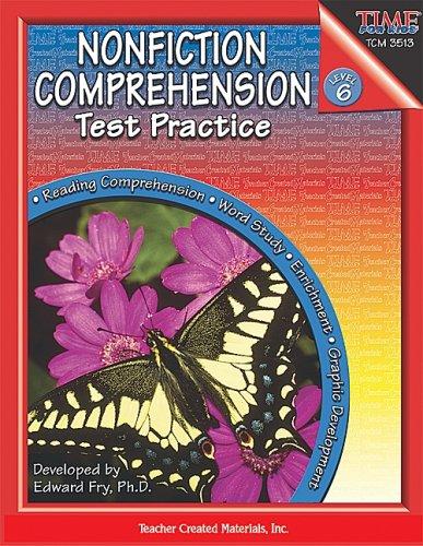 Nonfiction Comprehension Test (Nonfiction Comprehension Test Practice, Level 6)