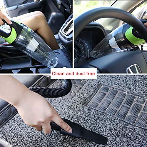 aspirapolvere Portatile per Auto con Ricarica USB Acutty Rosa Strumento di Pulizia ad Alta Potenza per Veicoli