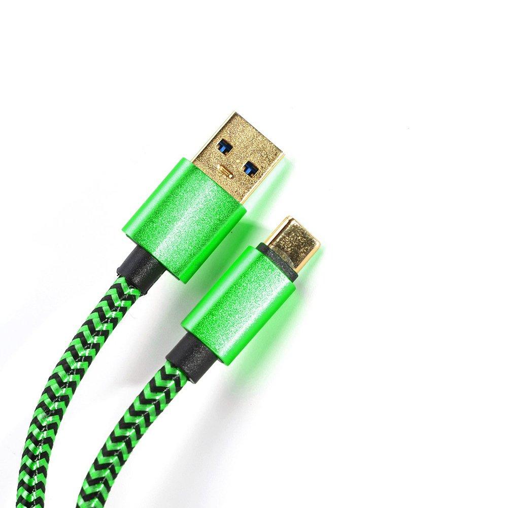 Microcargador USB trenzado de nailon de WeiMay con cable de aluminio para Xiaomi Android Leshi Huawei
