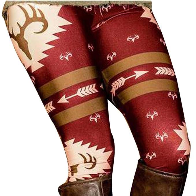 Perman Womens' Printed Stretchy Pants Skinny Leggings Pants - clothing under ten dollars