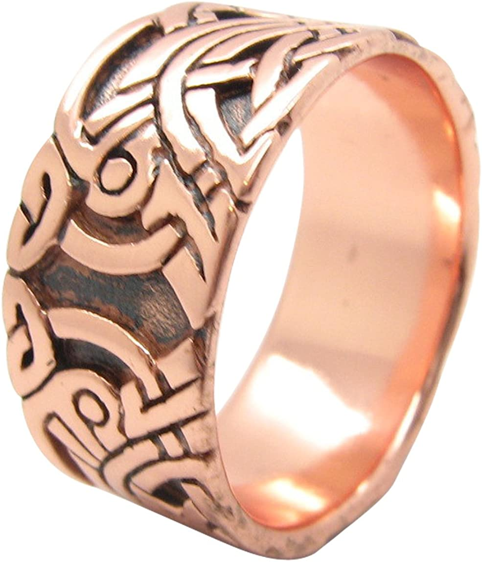 Paua shell ring band sizes 8 thru 11