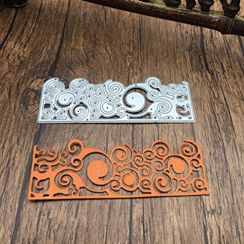 Die Cuts,Lookatool Metal Cutting Dies Stencils DIY Scrapbooking Photo Album Paper Card Gift ()