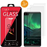 LG V20 Screen Protector,TIQUS [2 Pack] HD Clear Tempered Glass Screen Protector LG V20