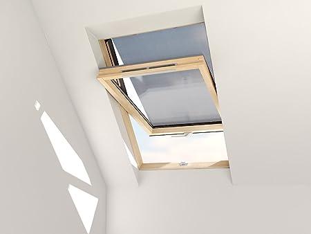 Store Exterieur Anti Chaleur Pour Fenetre De Toit Solstro Dakstra Rooflite Et Balio M4a M4r M6a M8a M8r M10a Amazon Fr Cuisine Maison