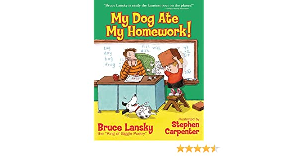 my doggy ate my homework giggle poetry