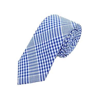 Hipster Corbata para hombre 100% algodón, diseño a cuadros ...