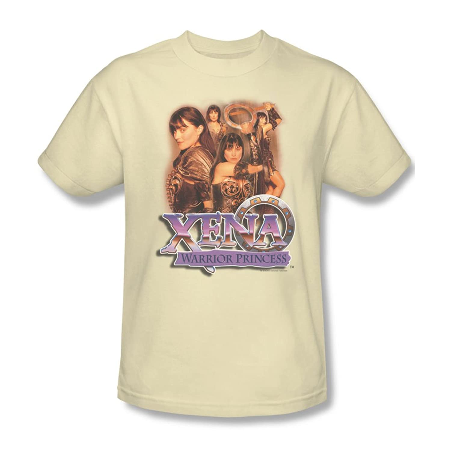 Xena - Mens Princess Collage T-Shirt