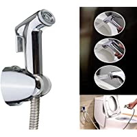 Yo India ABS Health Faucet with Stainless Steel Tube and PVC Holder (Simply Big)