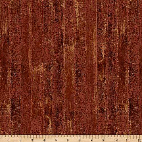 Northcott The Great Outdoors Flannel Red Fabric by The Yard ()