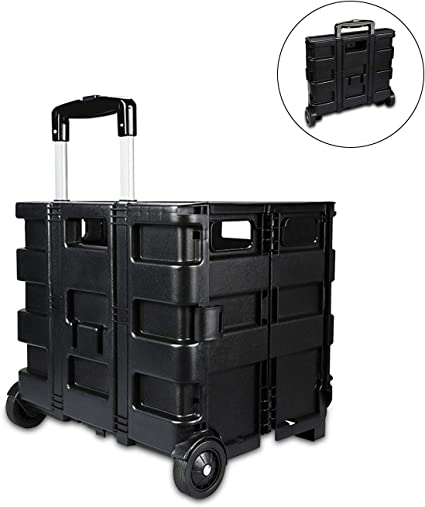 Amazon.es: Ergocar Maletero Organizador para Coche Caja de la Carretilla Almacenamiento Bolsa Plegable Organizador para Auto/SUV/Camión (Negro)