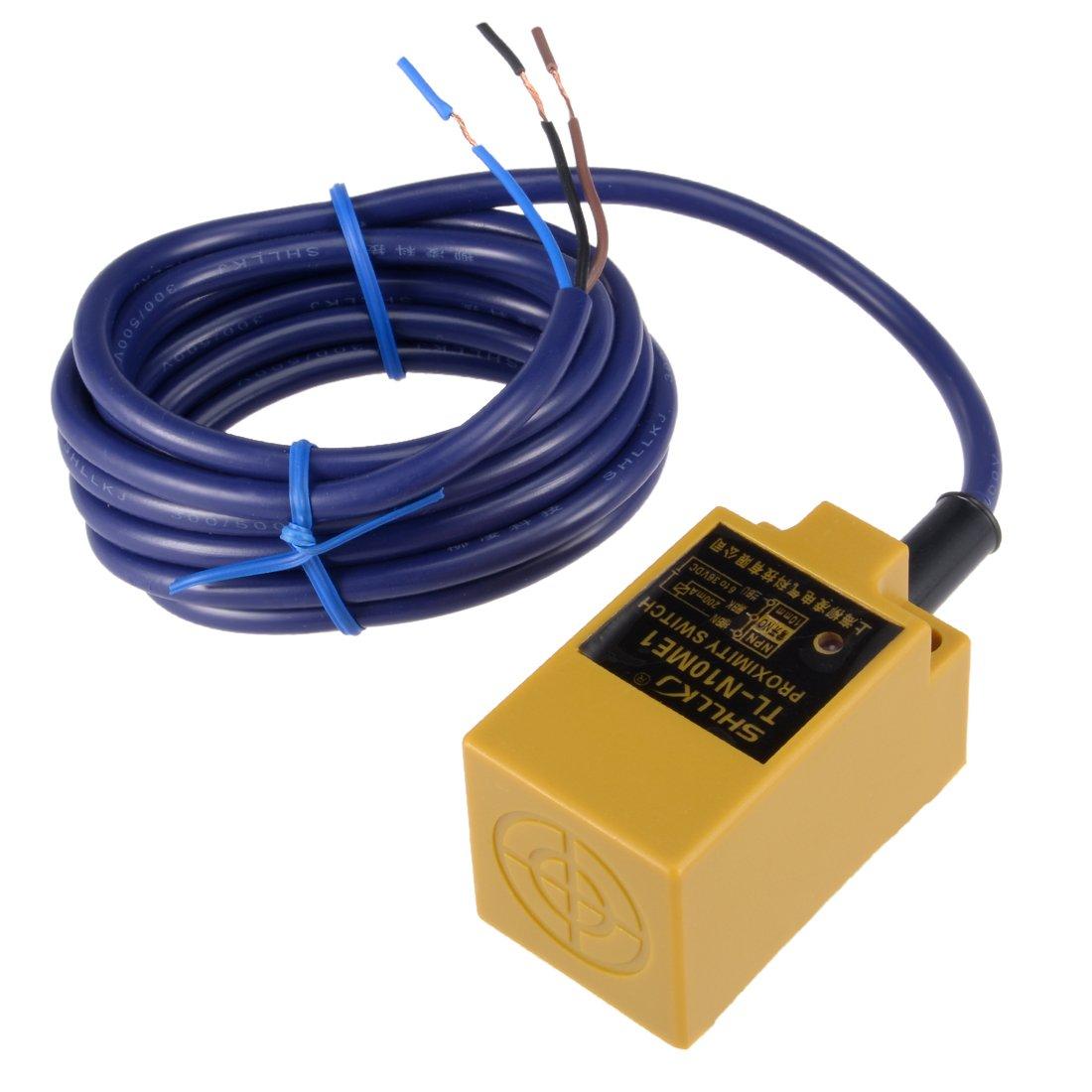 uxcell 10mm Inductive Proximity Sensor Switch Detector NPN NO DC 6-36V  200mA 3-Wire TL-N10ME1: Amazon.com: Industrial & Scientific