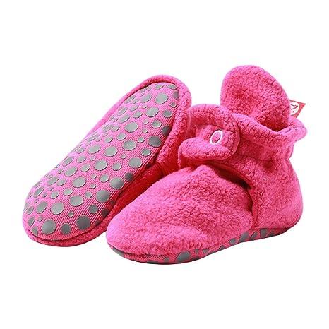 0899f7db1cf0e Zutano Cozie Fleece Baby Booties with Grippers 24M (18-24 Months ...